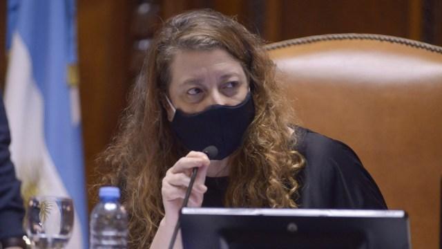 María Rosa Muiños, legisladora porteña del Frente de Todos (FdT) y autora del proyecto.
