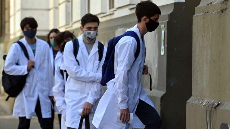 """La organización sindical sostuvo que suspender la presencialidad serviría para """"evitar la propagación del virus""""."""