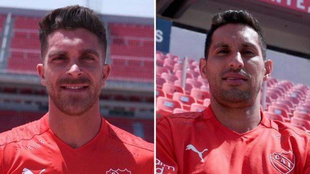 """el ex Huracán y el ex Colo Colo se suman al plantel del """"Rojo"""" (Foto: @Independiente)"""