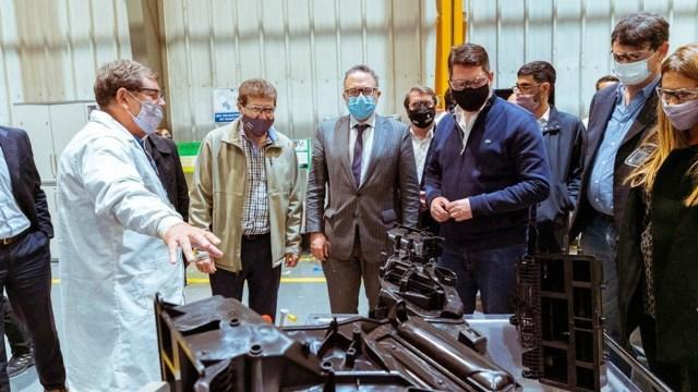 """Kulfas: """"El desarrollo industrial de Tierra del Fuego es fundamental para el futuro de la Argentina""""."""