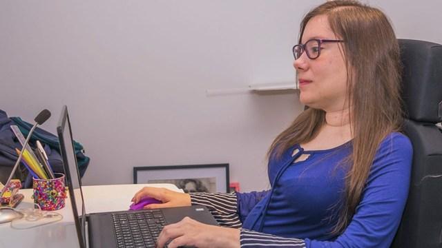 La mentora de este curso es Valeria Rocha, próxima a graduarse de ingeniera en Informática (UBA)