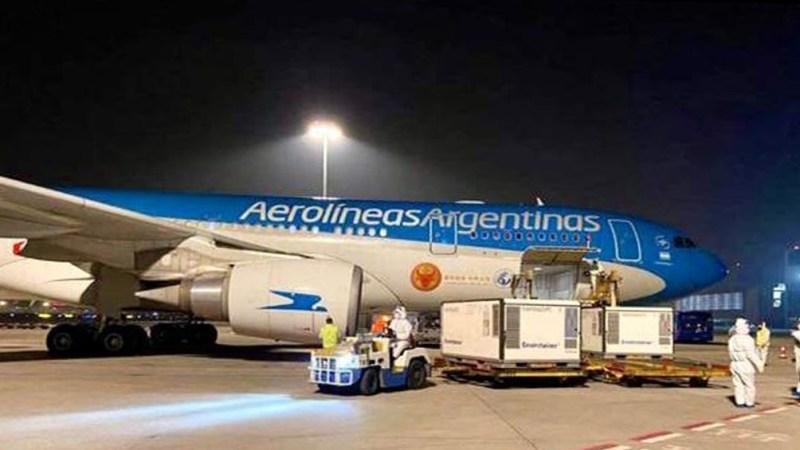 Para el total del operativo, se utilizarán tres aviones Airbus 330-200 de la flota de largo alcance de Aerolíneas Argentinas.
