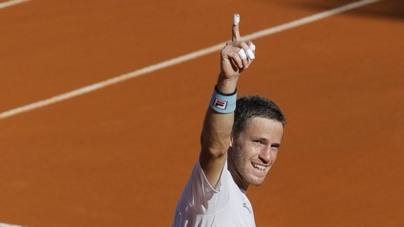 El tenista argentino Diego Schwartzman le ganó en la ronda inicial al chino Yen Hsun Lu por 6-2, 6-2 y 6-3.