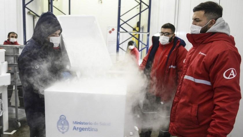 El jueves arribarán dos aviones con vacunas, uno provenientes de Beijing y otro de Moscú.