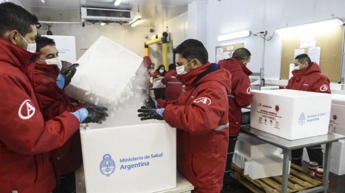 El Monitor Público de Vacunación registraba hasta este domingo un total de 1.539.482 vacunas aplicadas en todo el territorio nacional.