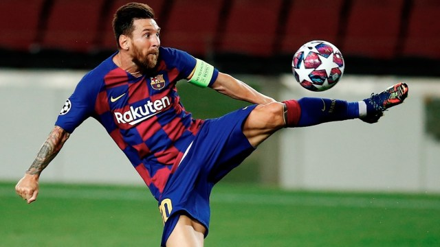 Messi comparte el tercer puesto en la lucha por el Botín de Oro