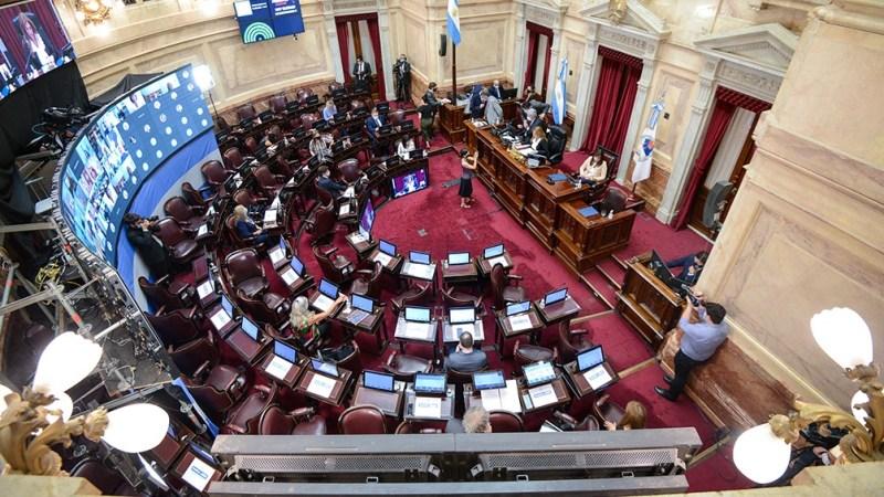 El Senado sesiona con un proyecto sobre caducidad de partidos políticos -  Télam - Agencia Nacional de Noticias