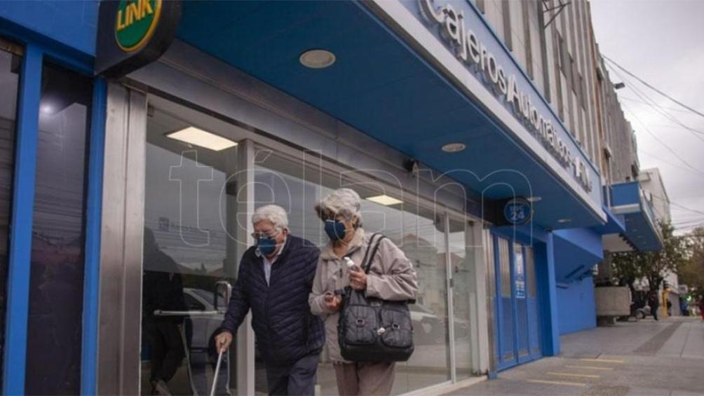 Los jubilados y pensionados no tienen que solicitar turno previo para cobrar.