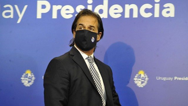 Luis Lacalle Pou, el presidente de Uruguay, planteó la necesidad de más flexibilizaciones.