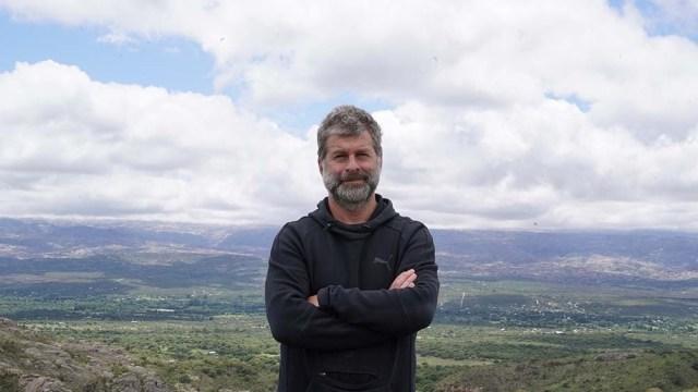 El veterano de la guerra de Malvinas y director del Museo Malvinas, Edgardo Esteban.