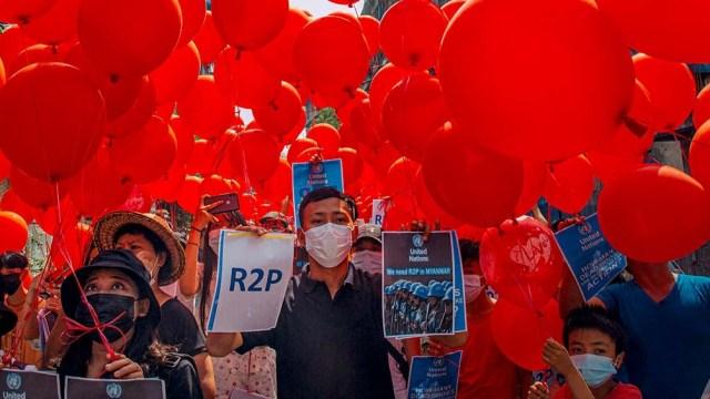 El medio birmano Myanmar Now elevó a 114 la cifra de muertos en la represión a las manifestaciones de este sábado.