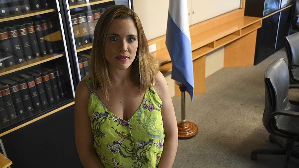 Soledad Manin, la interventora del Ente Nacional Regulador de la Electricidad.