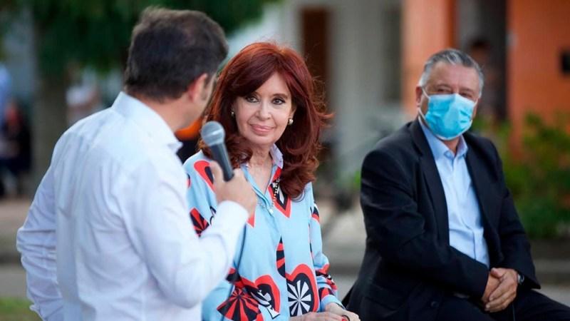 El mandatario habló durante un acto en la localidad bonaerense de Las Flores.