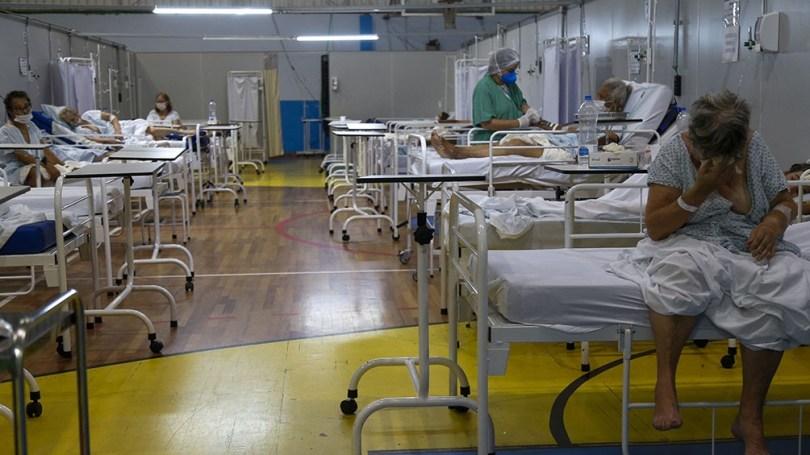 Al menos 6.500 pacientes que esperan la fila de camas,1.500 apenas en San Pablo,
