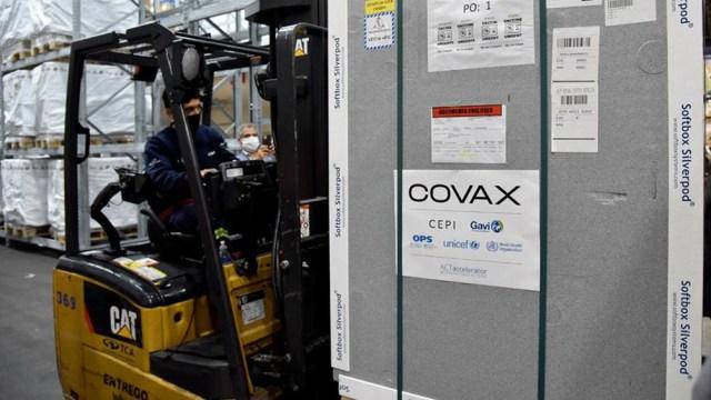 Covax ya entregó 32 millones de dosis de vacunas anticovid a 70 países