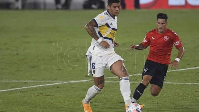 """Boca empató en la última fecha frente a Independiente en el """"Libertadores de América"""" (Foto archivo)"""