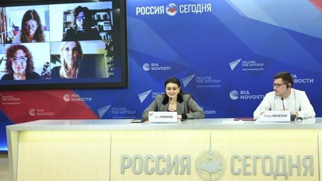 Conversatorio virtual en torno a los desafíos y los riesgos en las relaciones económicas entre la Argentina y Rusia.