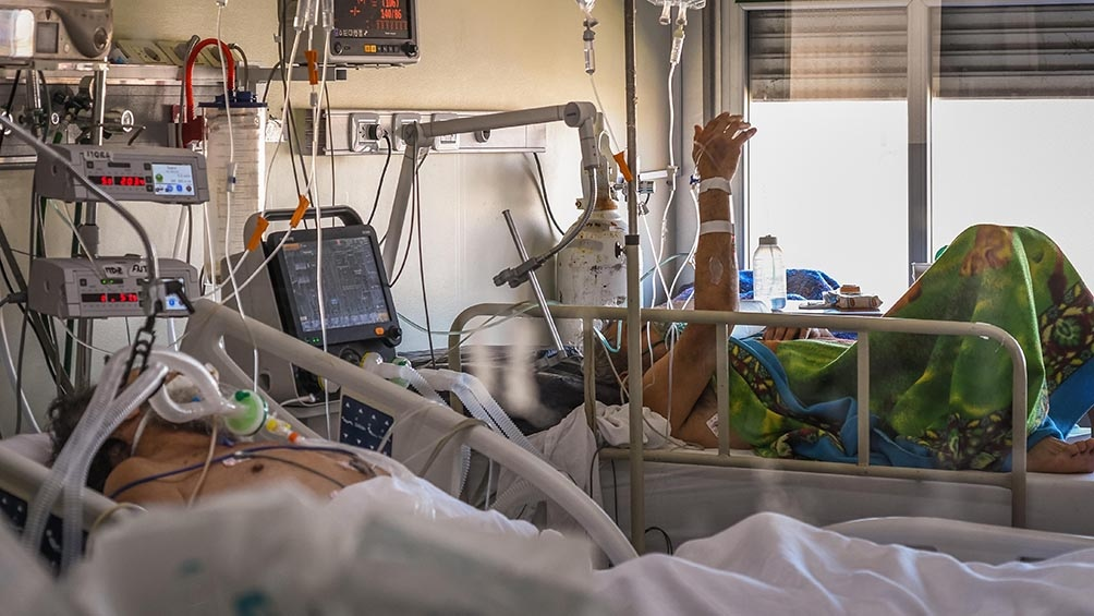 """""""Horacio Rodríguez Larreta está jugando muy al límite porque el sistema sanitario ya está al borde"""", aseguró García."""