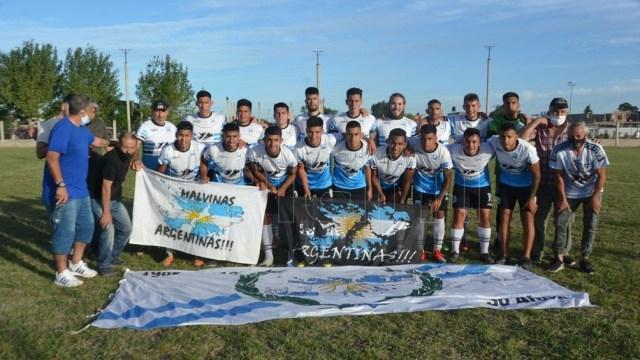 Malvinas Fútbol Club, un club ligado al 2 de Abril y a rendirle homenaje a los caídos y veteranos de la Guerra de Malvinas