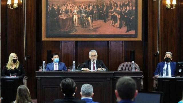 El mandatario resaltó el compromiso de seguir impulsando la economía.