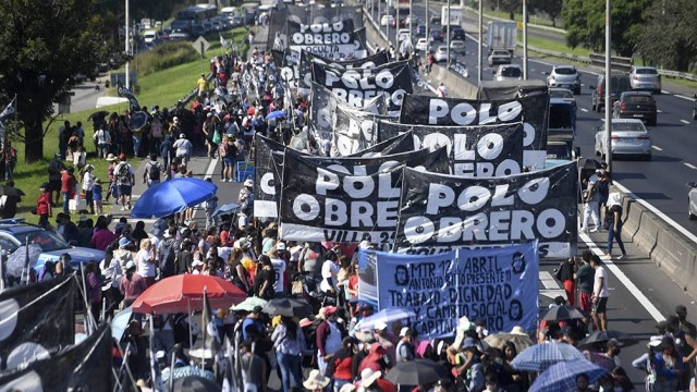 """""""Este cuadro social es alarmante y se va a agravar con los tarifazos"""", dicen los organizadores."""