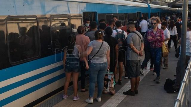 """""""Hoy tenemos más del 60% de la utilización del transporte ferroviario comparado con marzo del 2020""""."""