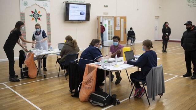 En Reino Unido sigue avanzando la campaña de vacunación