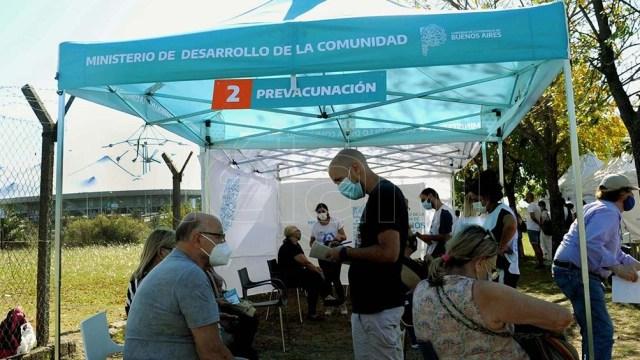 El Gobierno bonaerense dispuso que se retome hoy la aplicación de la vacuna contra el coronavirus en la posta habilitada en el Estadio Único Diego Maradona