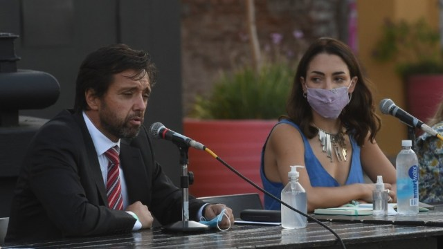 Martín Arias Duval, abogado de Thelma Fardin