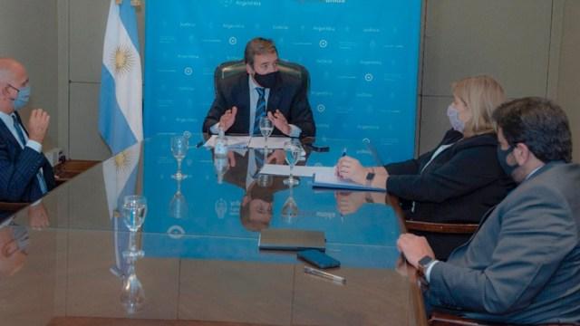 """Soria y los jueces coincidieron en """"avanzar en la entrada en vigencia del nuevo Código Procesal Penal Federal""""."""