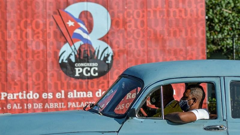 El Congreso del PCC se realizó en Playa Girón (Bahía de los Cochinos).