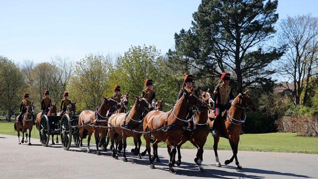 El funeral, cuidadosamente planeado por el duque de Edimburgo durante tantos años, se realizó de acuerdo a sus deseos.