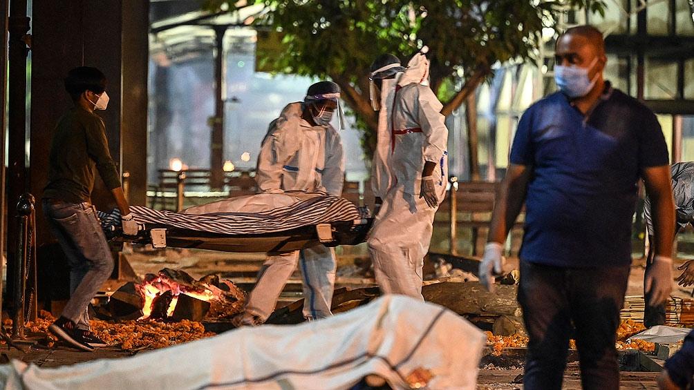 La India es el epicentro de la pandemia