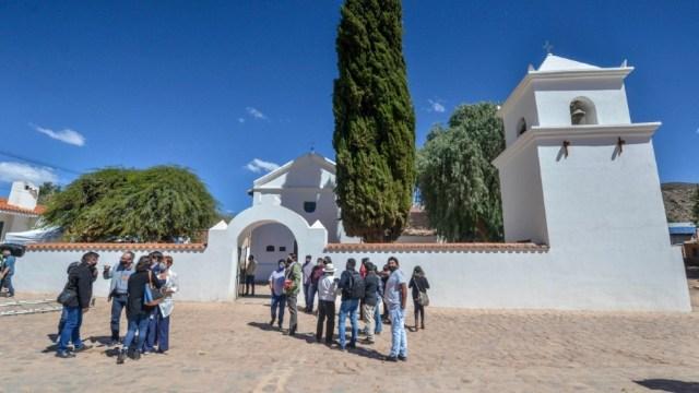 La iglesia fue creada en 1691.