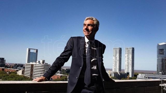 """Pablo Biró, definió a Mario Meoni como """"un político conciliador"""" y Viviam Perrone como """"un hombre sensible""""."""
