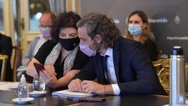 Cafiero y Vizzotti encabezaron una reunión de trabajo con diversos expertos y especialistas
