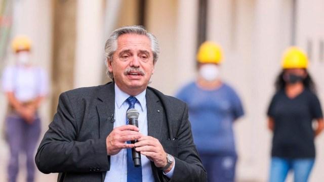 """Alberto Fernández: """"Quiero que ustedes reciban todo mi cariño, todo mi afecto en este 1 de mayo"""""""