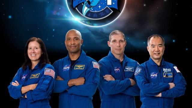 Estuvieron 160 días en el espacio.