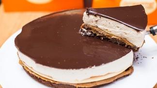 Torta La Bombón, la más buscada, incluso por quienes no son celíacos.
