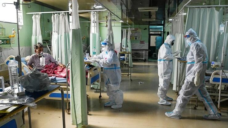 India es uno de los países más afectados por la pandemia