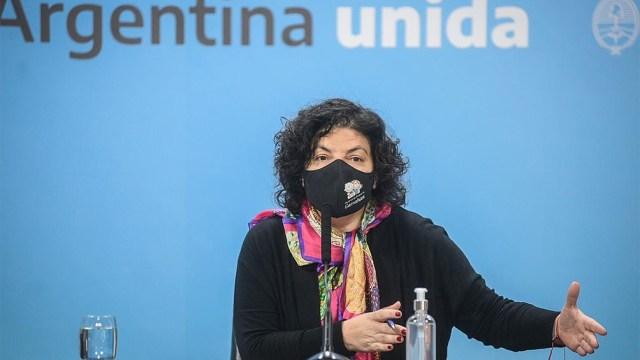 El Ministerio que conduce Carla Vizzotti desmintió las declaraciones de Santiago Cornejo.