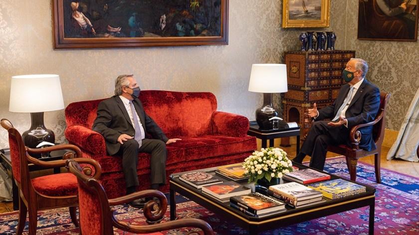 """""""Venimos a ratificar nuestros acuerdos con Europa para que nos acompañen"""", dijo Fernández"""