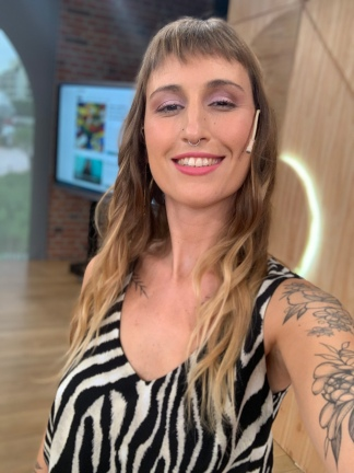 La periodista experta en tecnología Florencia Barbeira.