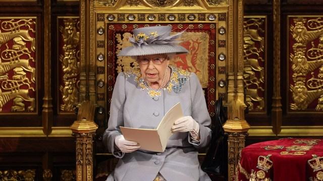 La monarca presentó la agenda legislativa pospandemia de coronavirus