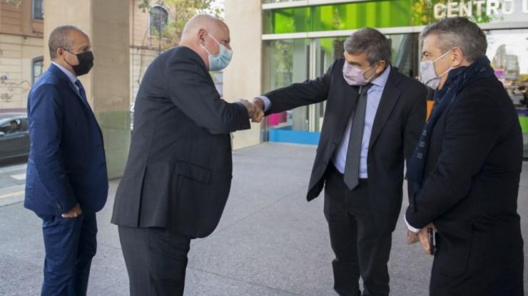 El ministro de Ciencia y Tecnología, Roberto Salvarezza, se reunió con la delegación israelí que visita la Argentina.
