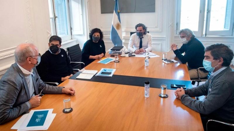 Reunión entre Nación, provincia y ciudad por la situación epidemiológica.