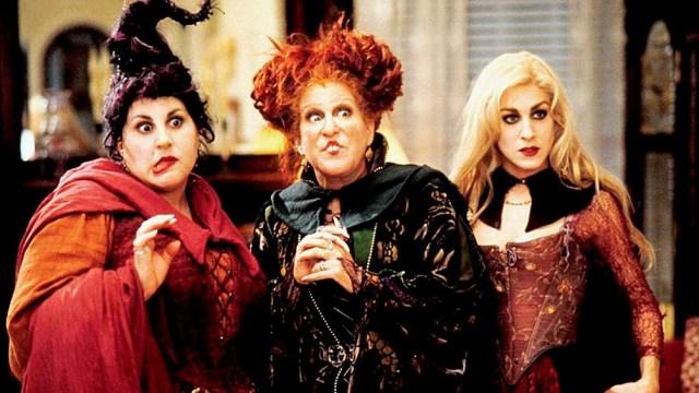 Najimy, Midler, y Parker, las tres brujas