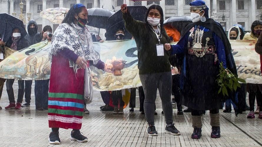 Histórico encuentro de las mujeres indígenas.