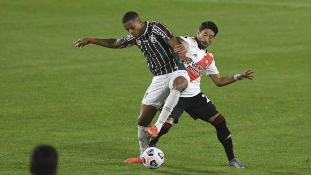 Fluminense se impuso en el Monumental y terminó primero del grupo.