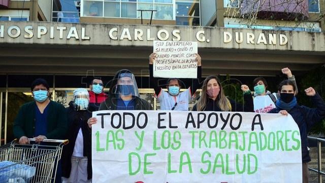 A las 11 darán una conferencia de prensa en el Hospital Durand, ubicado en la avenida Avenida Díaz Vélez 5044